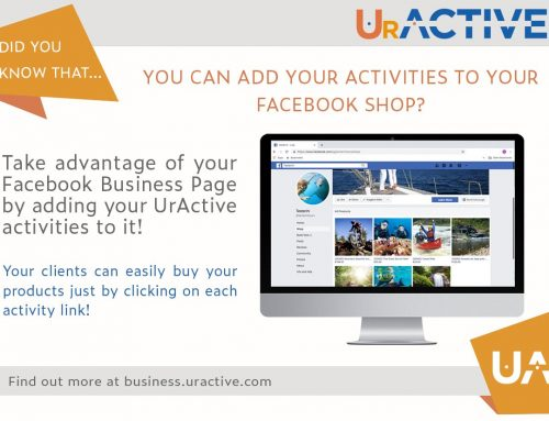 Did you know that you can add your activities to your Facebook shop?